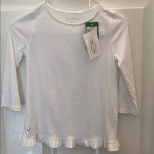Long sleeve light weight Lilly Pulitzer top